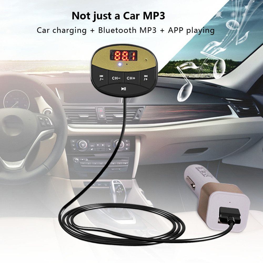 2017 Hot Car Usb Socket Wireless Bluetooth Audio Music Receiver