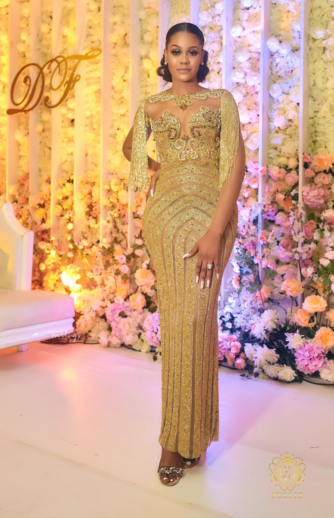 I Knew It Had To Be Her Or Nobody Debbie Femi S Fairytale Wedding Bride Reception Dresses Latest African Fashion Dresses African Fashion Dresses