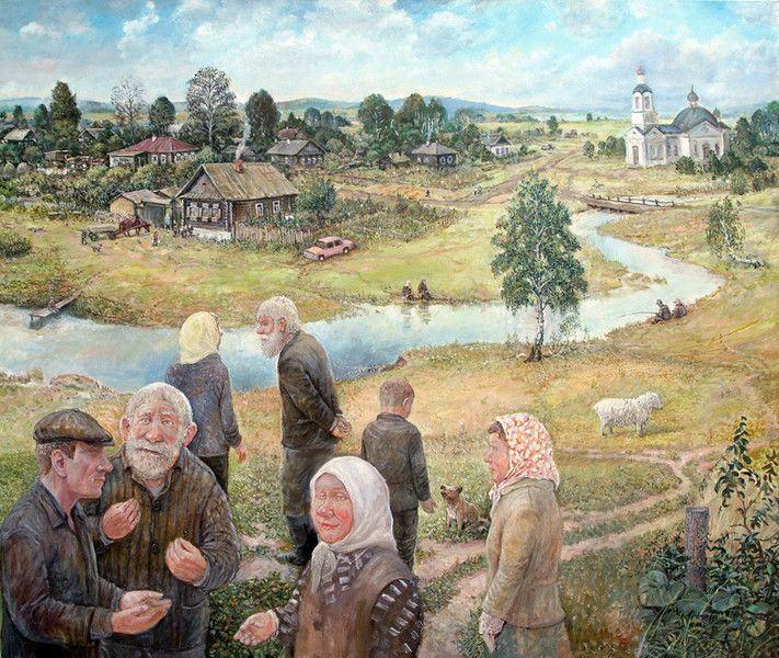 Как оплодотворяли баб в семьях на деревне в былые времена — pic 10