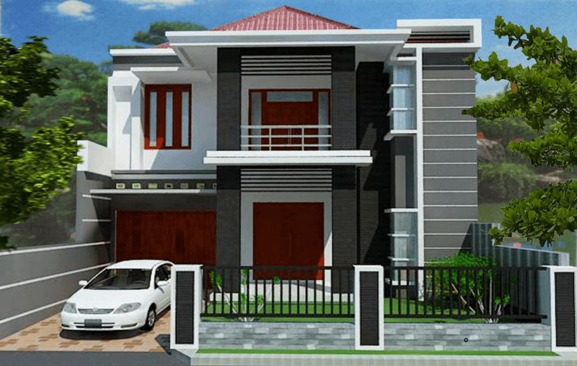 Contoh Rumah Minimalis Modern Type  Terbaru