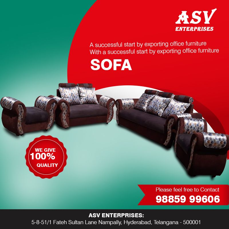 Asv Enterprises Is A Successful Start By Exporting Office Furniture We Came Up With Our Own Shop That Sells Sofas Office Chairs An Office Furniture Office Workstations Cool Furniture