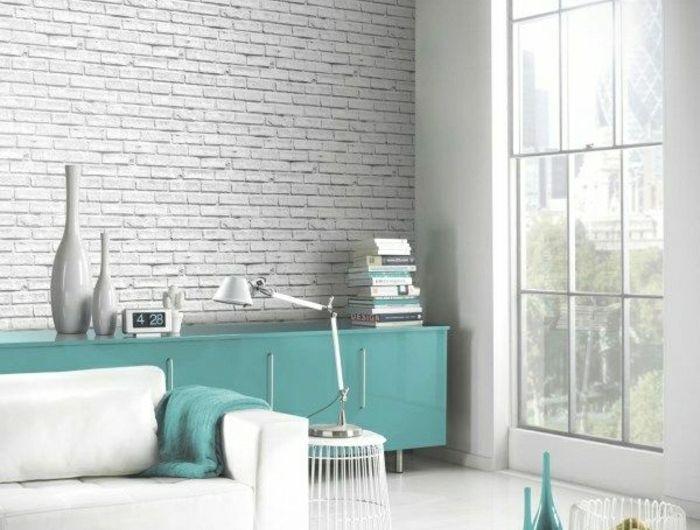 tapete in grau stilvolle vorschl ge f r wandgestaltung pinterest tapeten. Black Bedroom Furniture Sets. Home Design Ideas