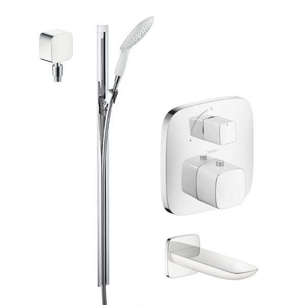 Hansgrohe Hg T104 Shower Tub Shower Valve Wall Bar