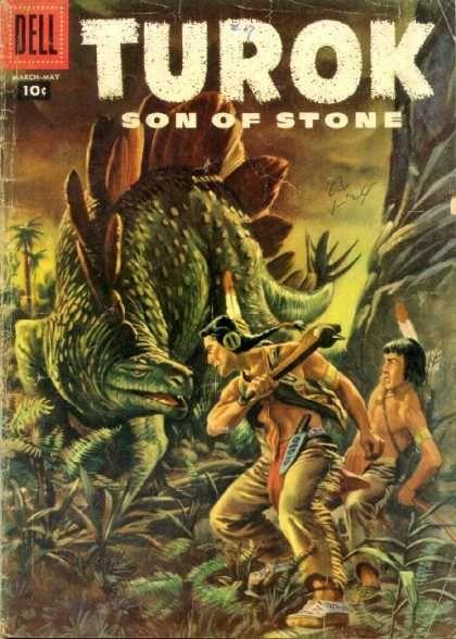 Turok Son Of Stone Covers Comics Dell Comic Fantasy Comics
