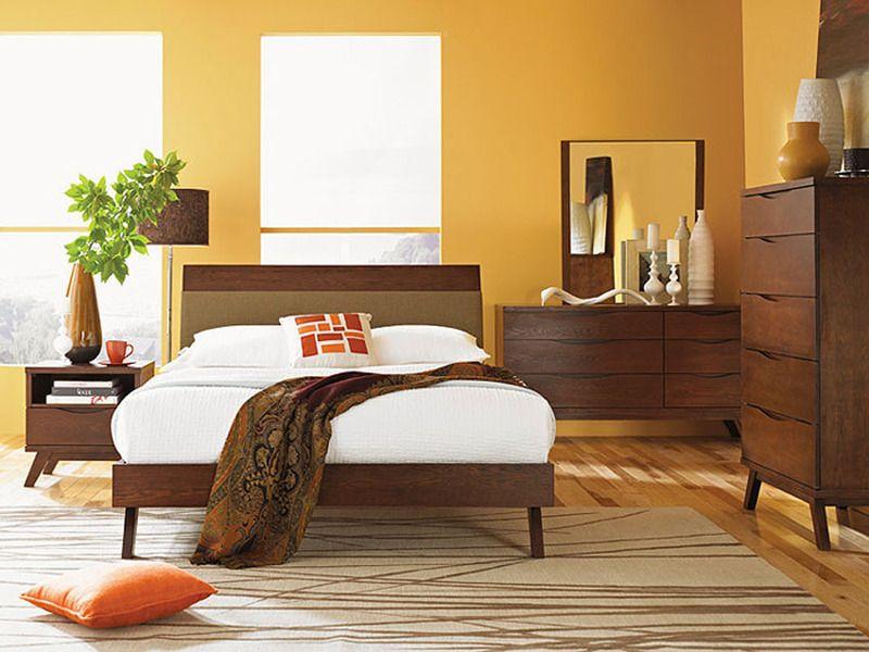 Asian Style Platform Bed Bedroom Furniture Bedroom Sets