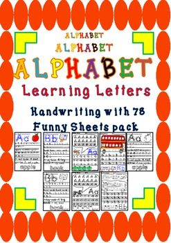 Hand writing alphabet 78 funny letter formation sheets pa hand writing alphabet 78 funny letter formation sheets pa spiritdancerdesigns Image collections