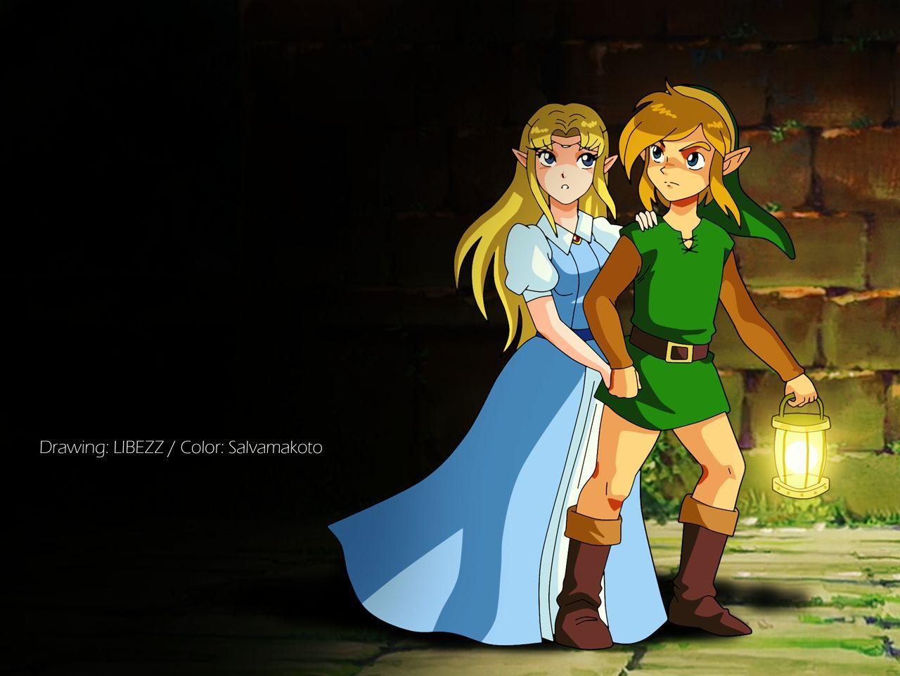 A Link To The Past Collaboration By Salvamakoto On Deviantart Legend Of Zelda Legend Zelda A Link To The Past