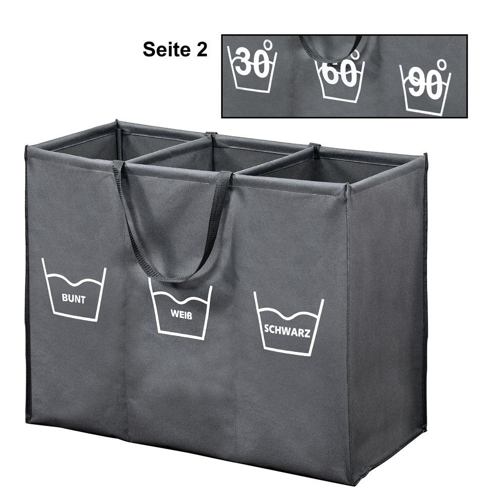 kesper w schesortierer mit 3er einteilung und trageschlaufen dies das k chenhelfer. Black Bedroom Furniture Sets. Home Design Ideas