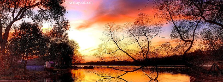 Beautiful Fall Sky Day Facebook Cover Coverlayout Com Fall Facebook Cover Photos Fall Cover Photos Facebook Cover