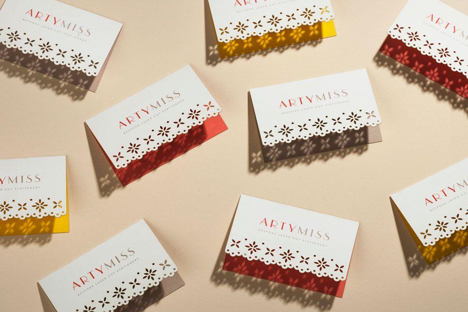 Artymiss Showcase Folded Business Cards Make Business Cards Beautiful Business Card