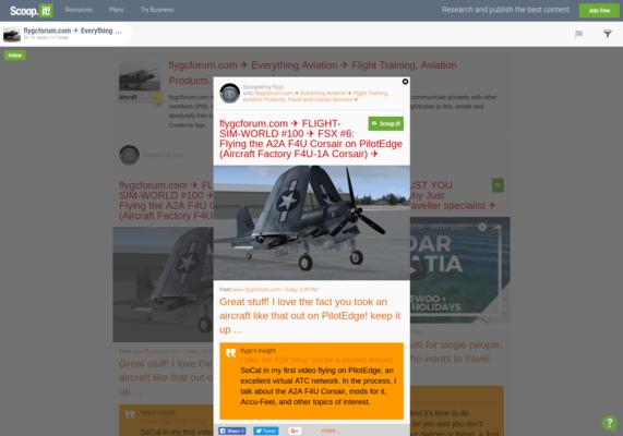 flygcforum com ✈ FLIGHT-SIM-WORLD #100 ✈ FSX #6: Flying the A2A
