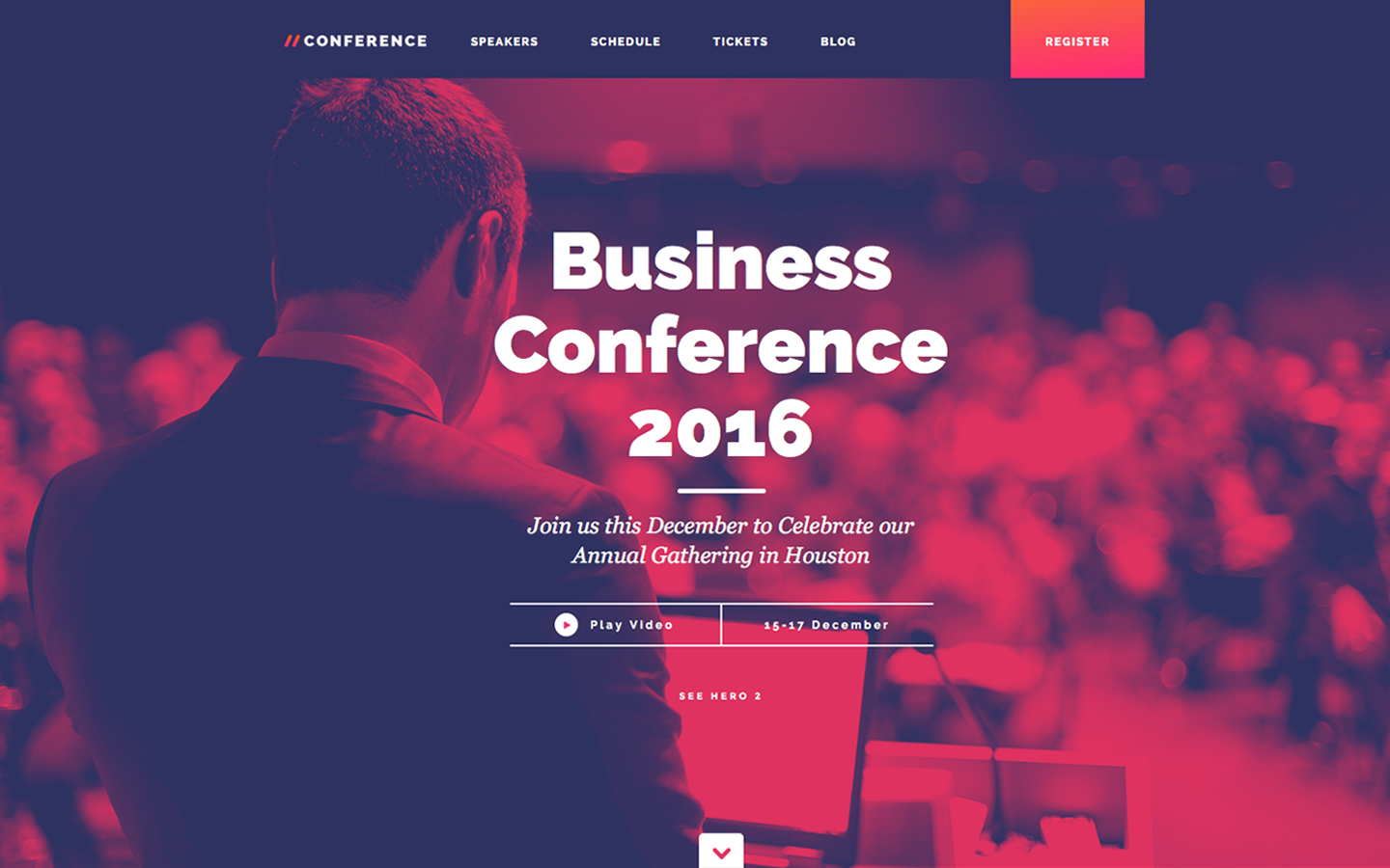 A Event Html5 Responsive Website Template For Your Event Website Customize It With Webflow S Web Design To Conference Design Event Website Event Landing Page