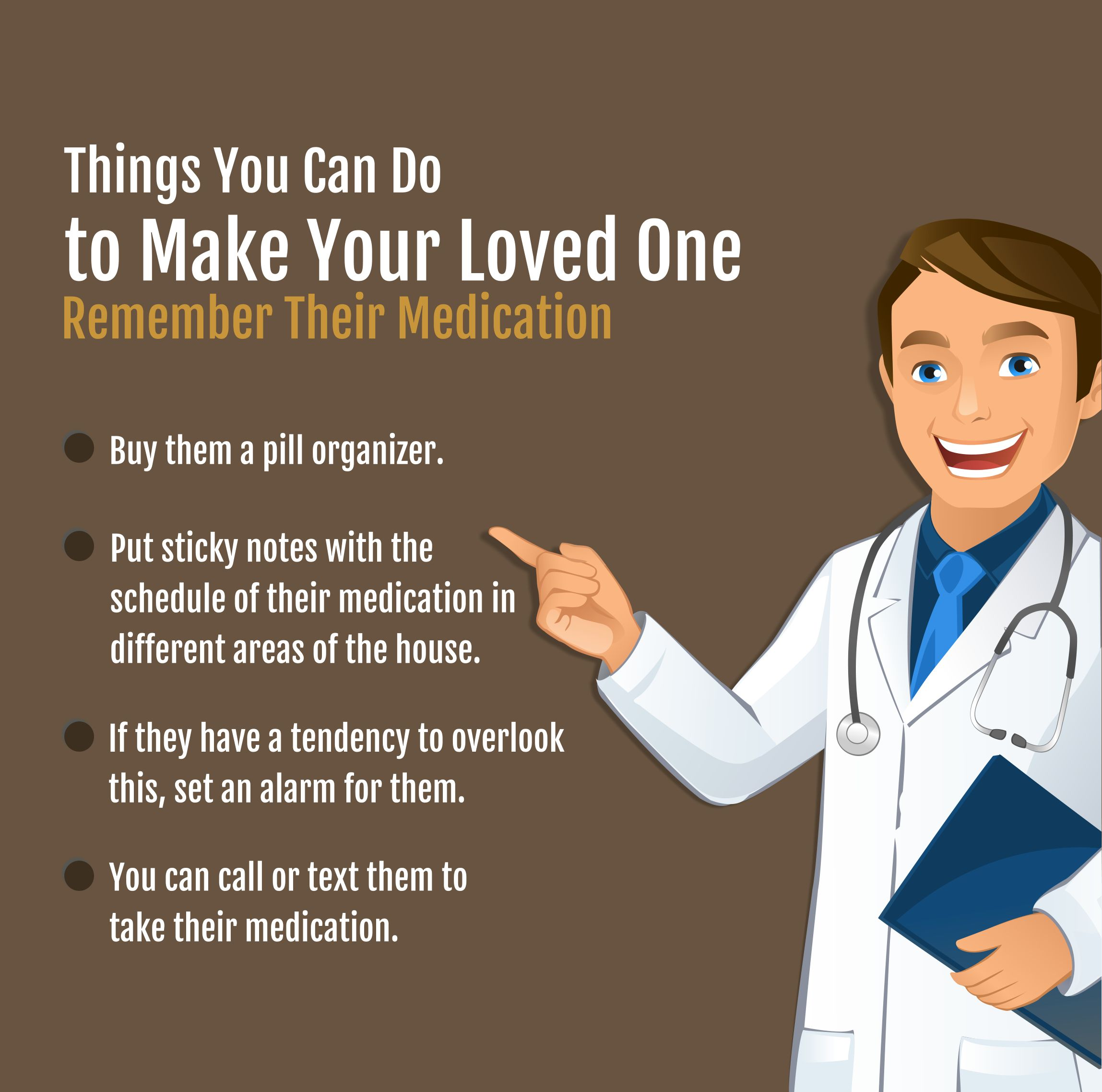 Things You Can Do To Make Your Loved One Remember Their Medication #remember #medication