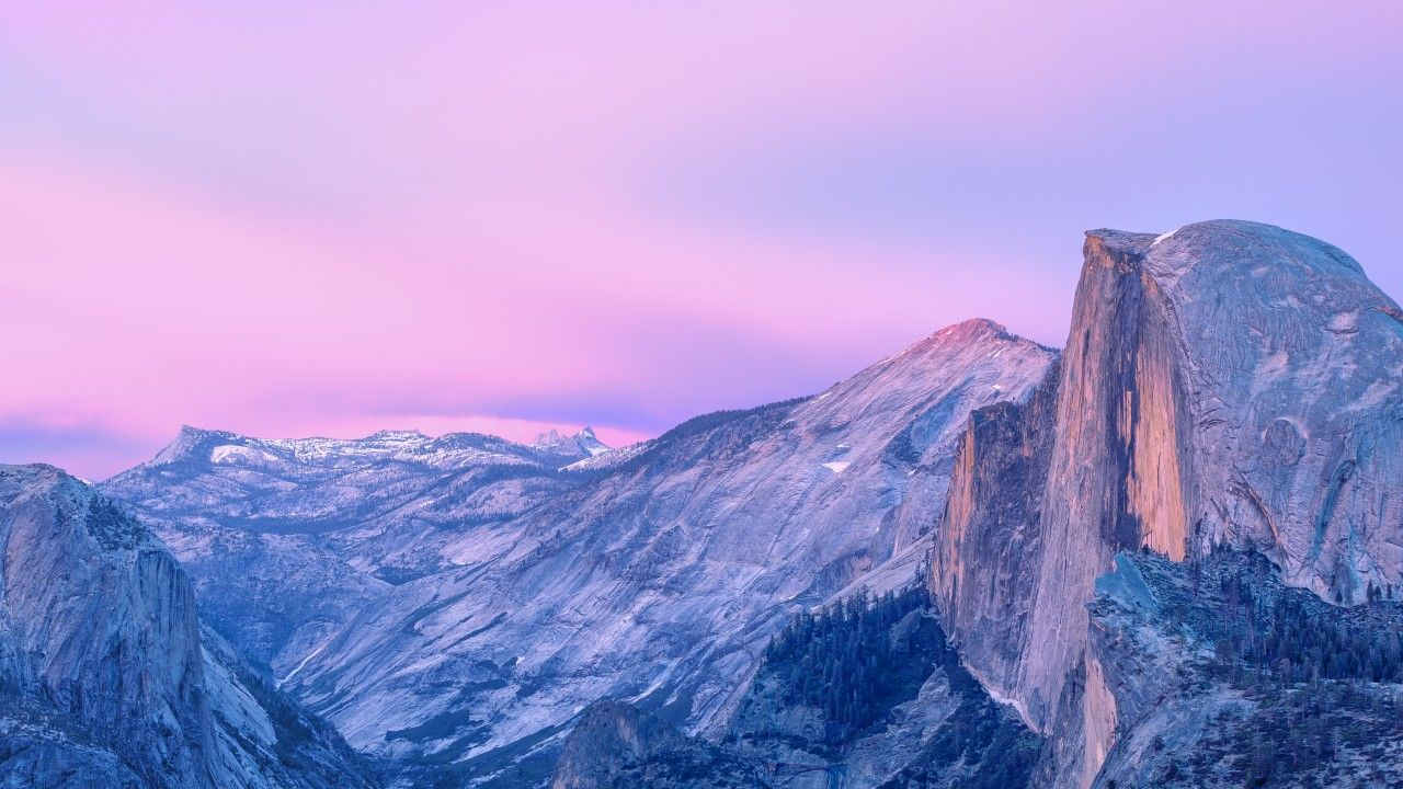 yosemite, 5k, 4k wallpaper, forest, OSX, apple, mountains