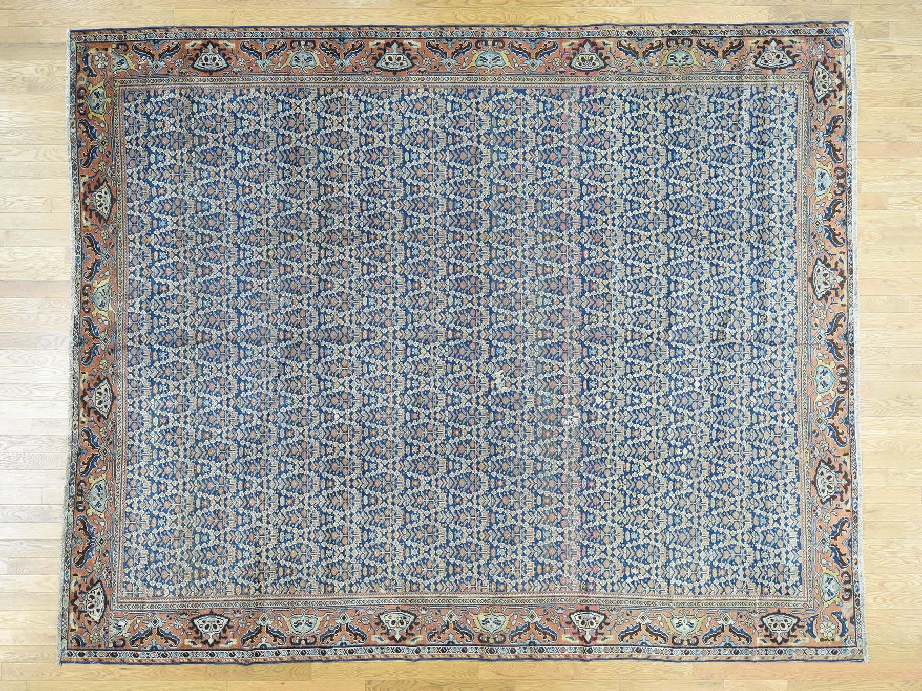 10 X12 4 Antique Persian Mahal Paisley Design Exc Cond Oriental Rug Sh30265 Oriental Rug Paisley Design Rugs