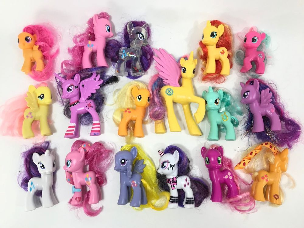 My Little Pony Mlp G4 Fim Figure Lot Ebay My Little Pony Pony Figures