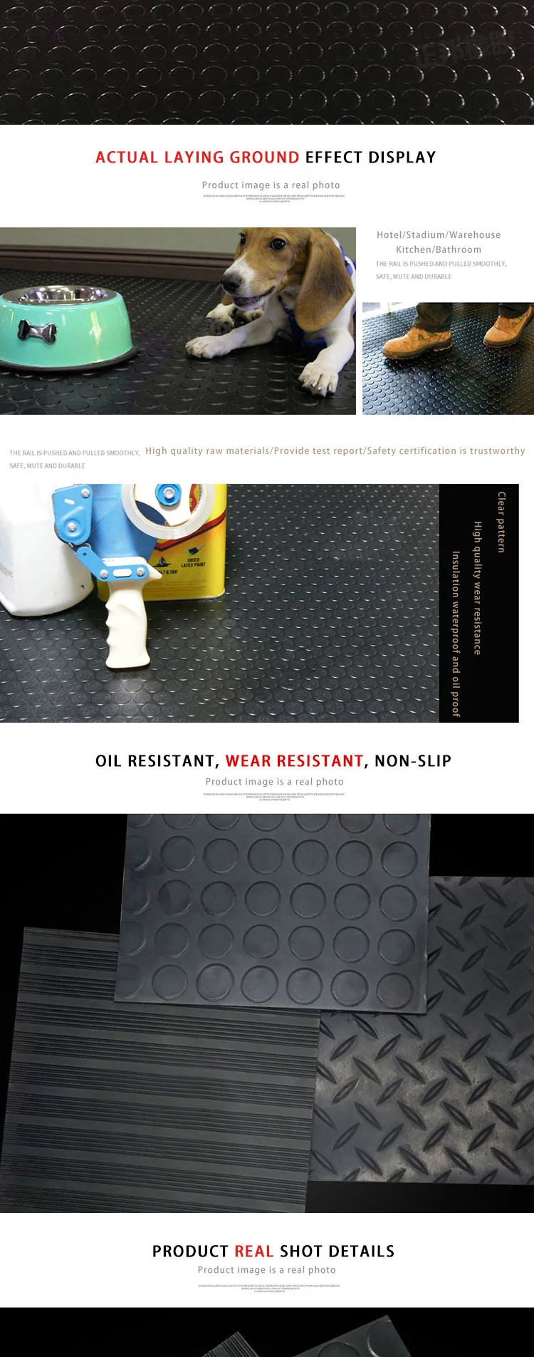 3mm 5mm 6mm 8mm Anti Slip Stud Coin Rubber Flooring Buy Coin Rubber Floor Stud Rubber Flooring Industrial Rubber Floor Mat Pro