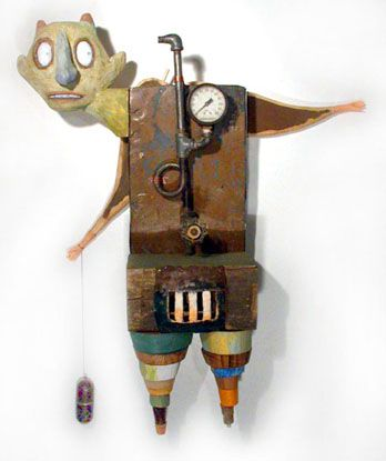 Mixed media assemblage by William Skrips