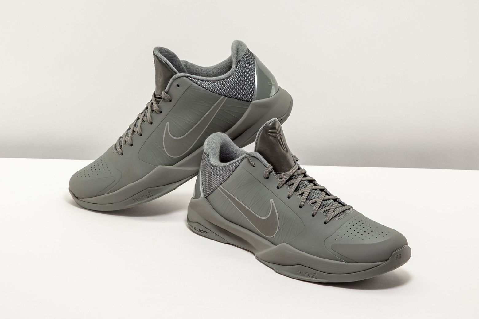 5730b0b43e0d ... get the fade to black collection sports each of kobe bryants signature  shoes including this matte