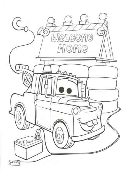 disney cars 2 coloring pages Disney Cars Party Pinterest