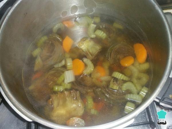 Caldos de verduras para adelgazar