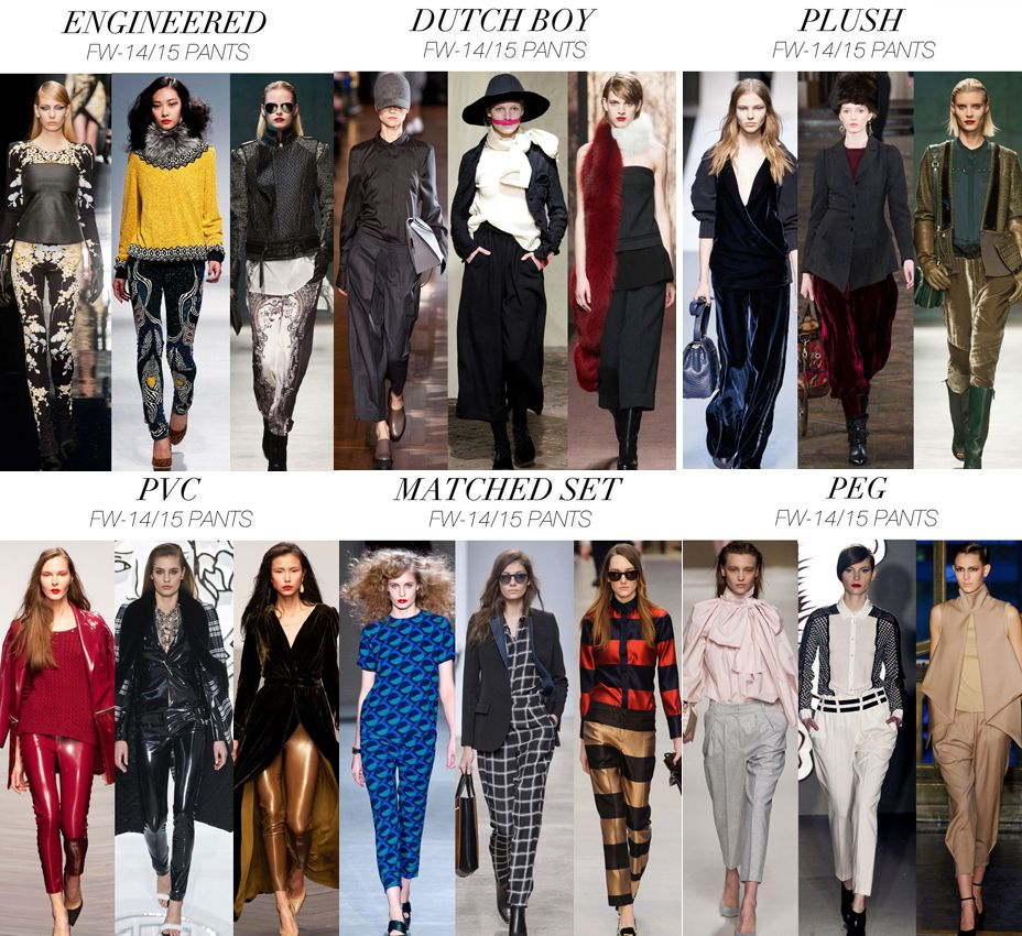 foto Main trends Fall-Winter 2014-2015