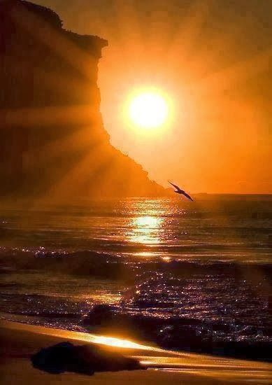 Awesome Sunrise | The strength of a new day dawning the beautiful sun  rising. | Justin Matthew - Google+ #sunrise | Beautiful sunset, Beautiful  nature, Sunset