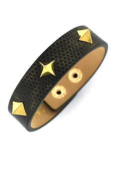 Vince Camuto Tour of Duty Items black Spike Bracelet