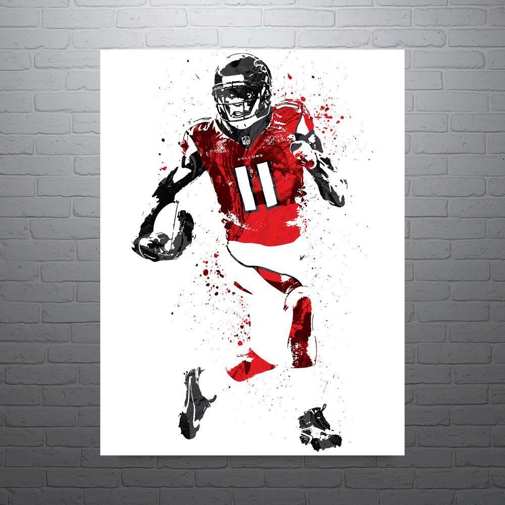 Julio Jones Atlanta Falcons Football Poster Atlanta Falcons Poster Atlanta Falcons Football Julio Jones