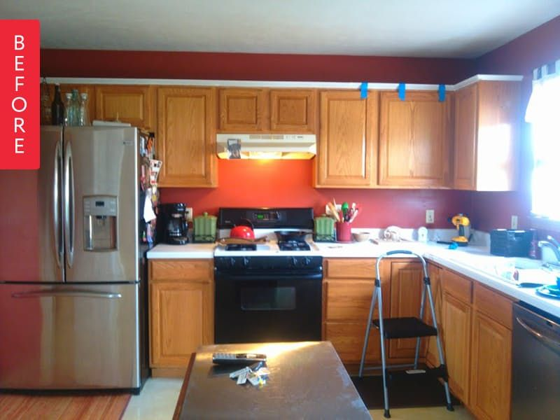 Before & After: The $800 Sell-This-House Kitchen Makeover
