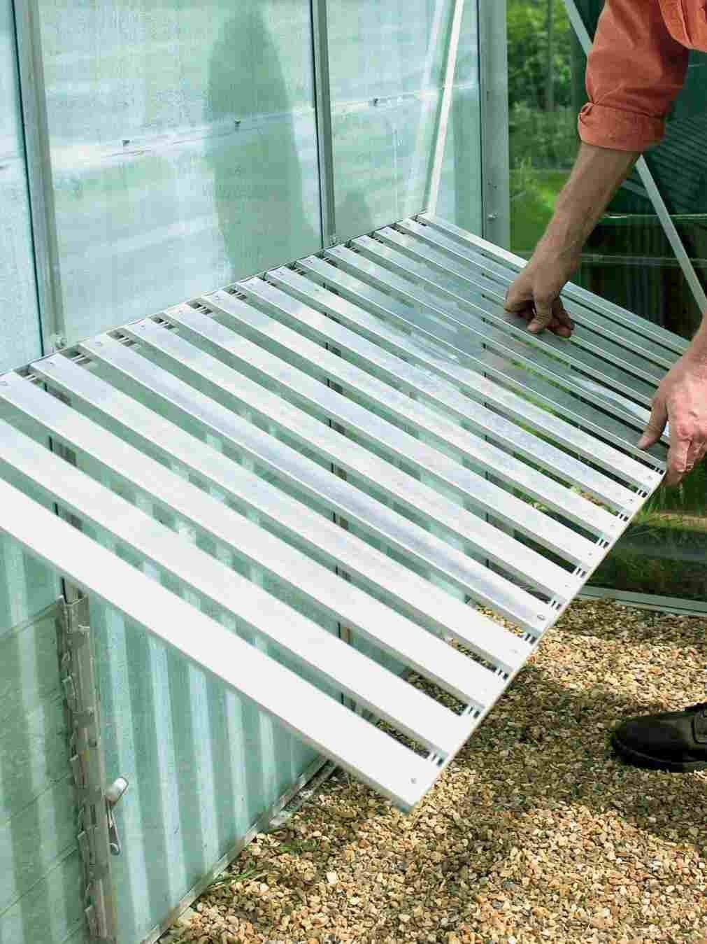 Pin By April Artistic Gardener On Green House Galore Greenhouse Shelves Greenhouse Benches Greenhouse Ventilation