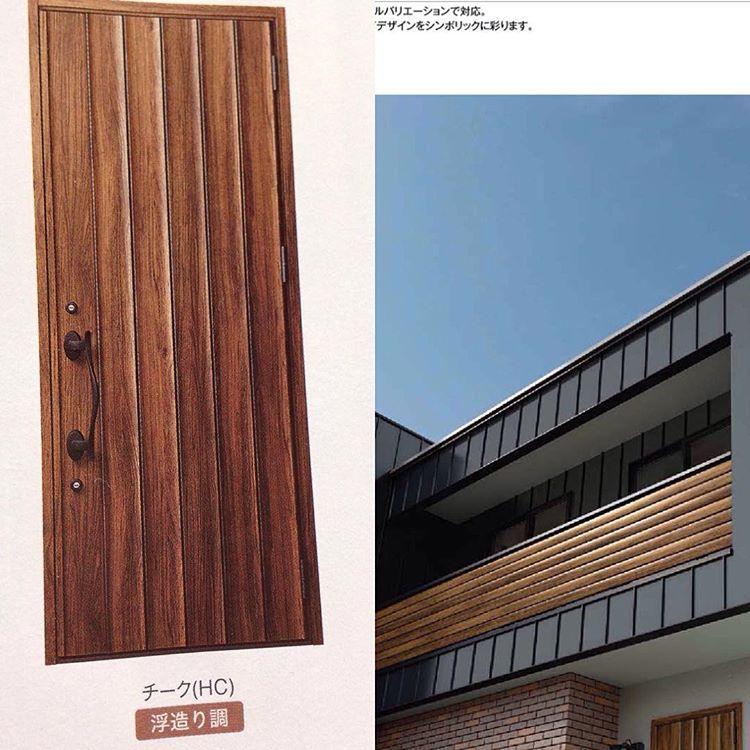 みそこさん Misoko House Instagram写真と動画 玄関ドア 家 外観 玄関