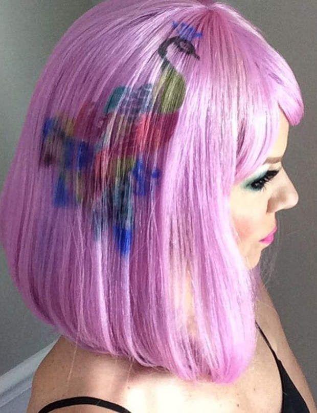 Graffiti Hair Une Tendance Repre Sur Instagram Graffiti And