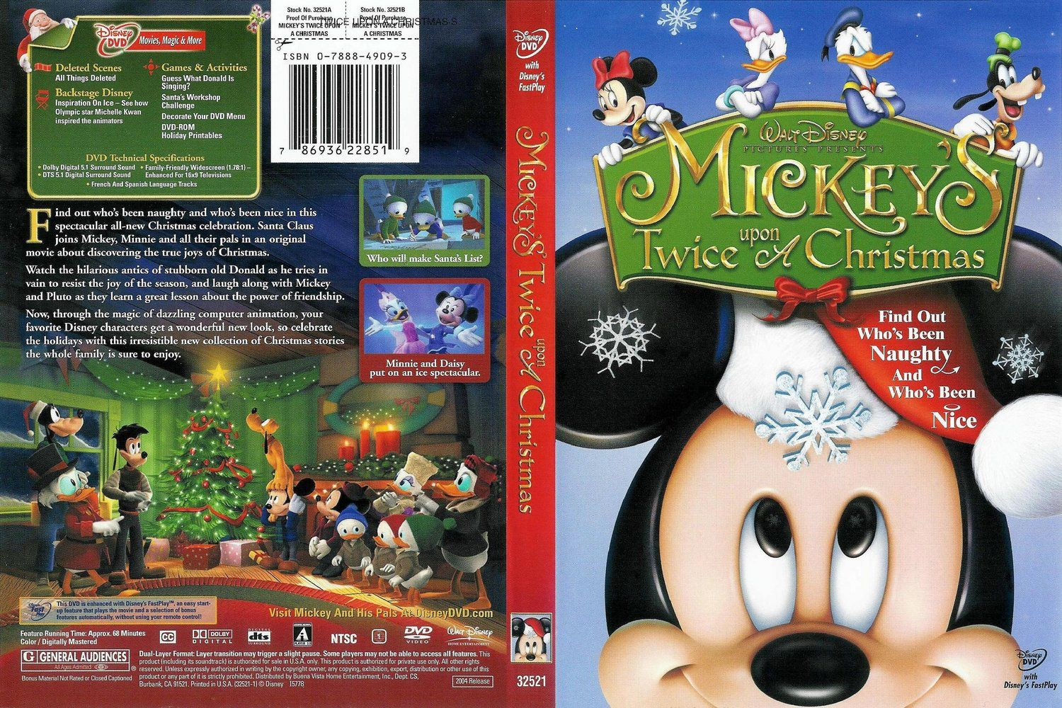 Mickey's Twice Upon Christmas DVD | cine | Pinterest