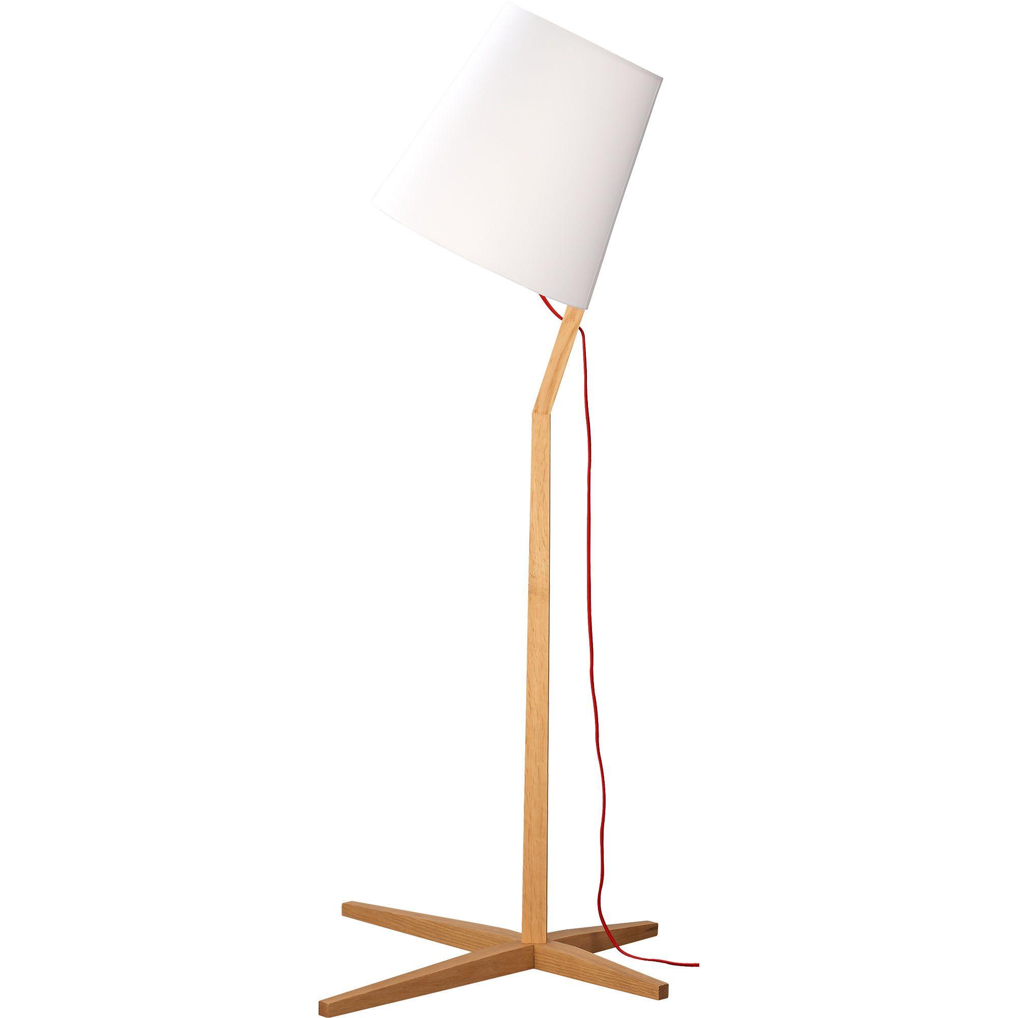 fujiya floor lamp in floor lamps   CB2