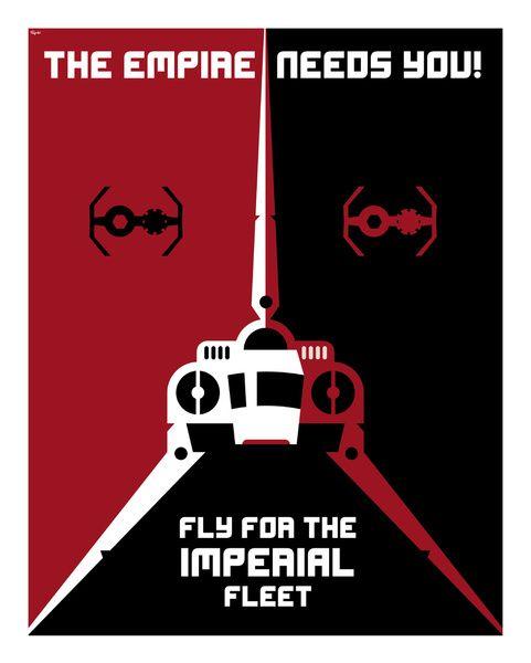 Star Wars Imperial Propaganda Posters    Created by Szoki