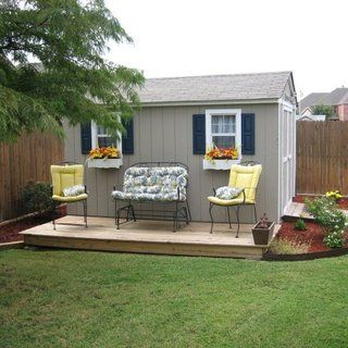 Garden Sheds That Look Like Houses improve the looks of a storage shed | backyard, yards and storage
