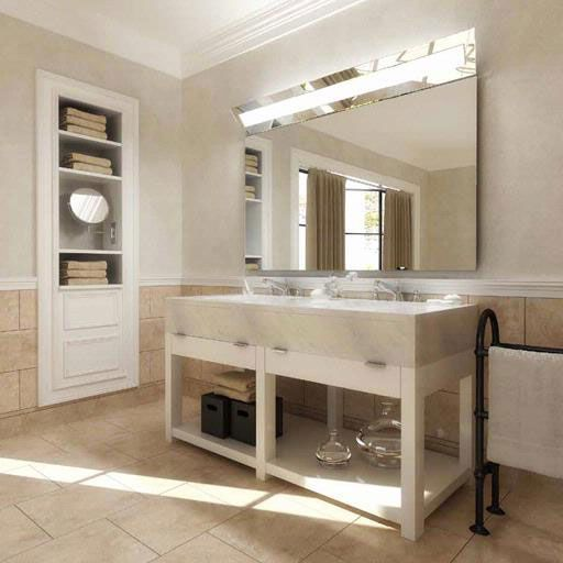 Boulevard Dimmable LED Mirror