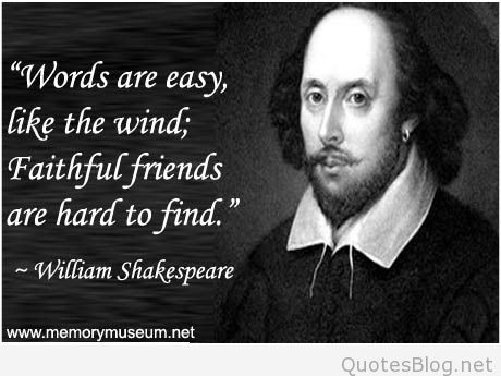 quotes about shakespeares writing