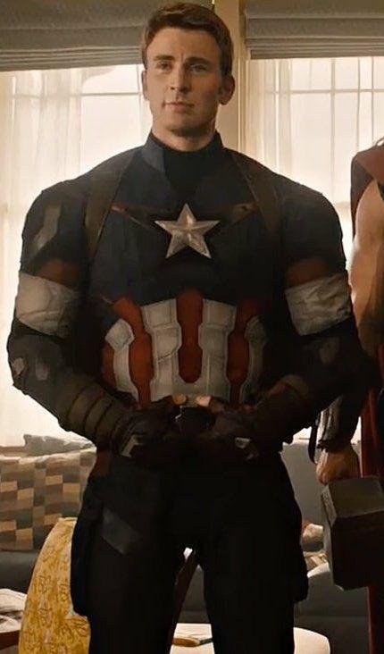 Halloween 2020 Chris Avengers Endgame#Marvel Movie#Captain America#Adult Cosplay
