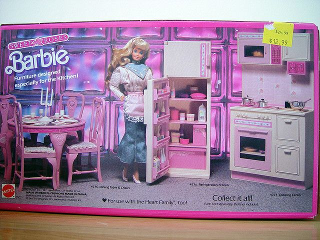 Sweet Roses Vintage Barbie Furniture Remember When