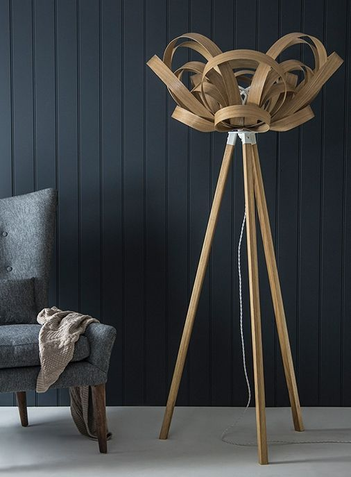 Handcrafted Contemporary Lighting And Furniture By Tom Raffield Cornwall Decor Wooden Floor Lamps Flooring