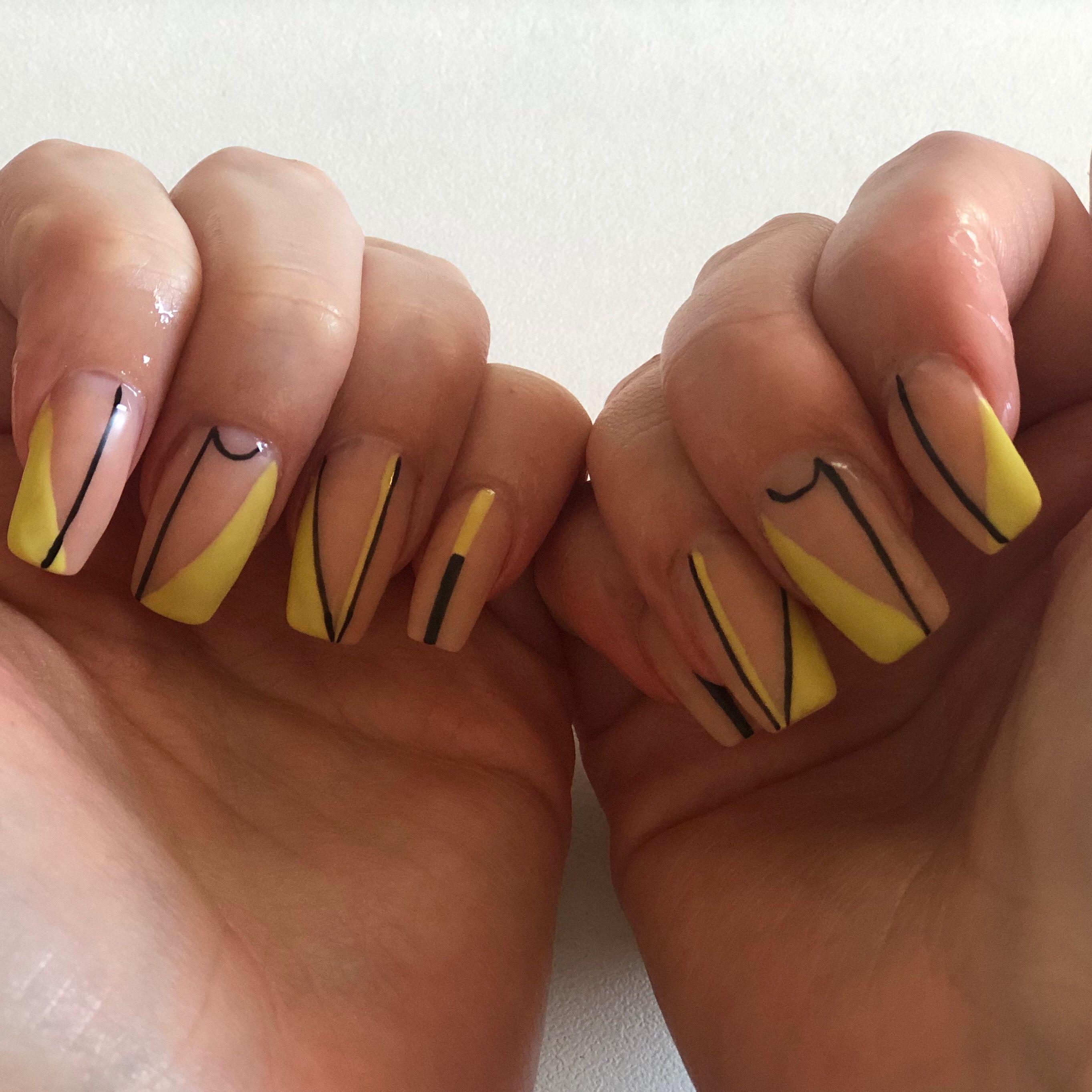 Lines Nails Design