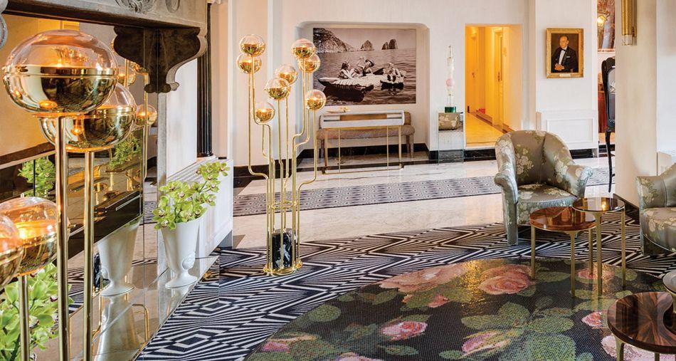 Lussuoso design di interni ispirazioni di arredamento di interni