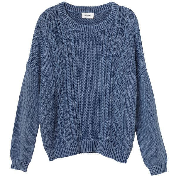 a106bb8f550 Monki Pam knit ($17) ❤ liked on Polyvore featuring tops, sweaters ...