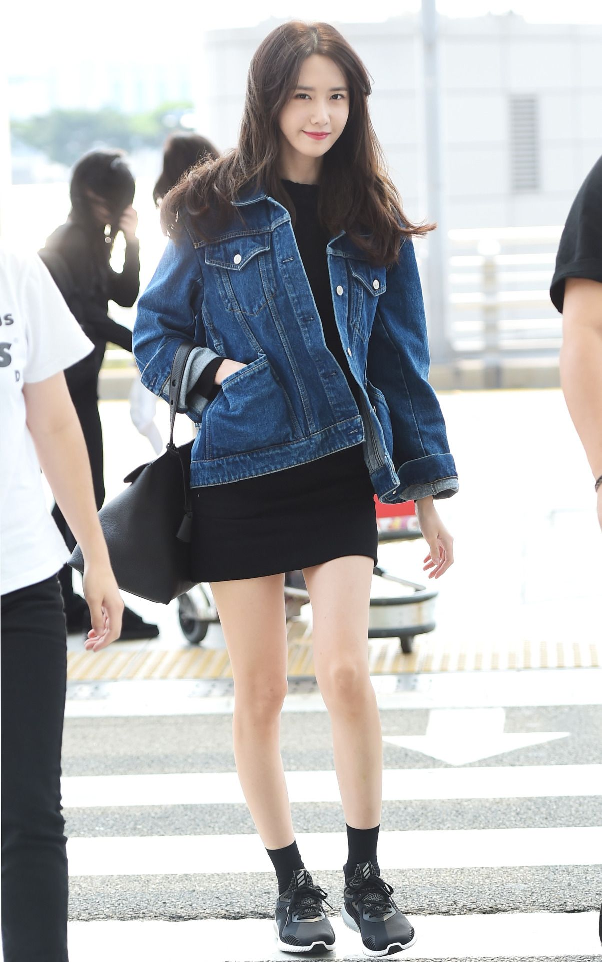Snsd Yoona Airport Fashion Style More Korean Fashion Pinterest