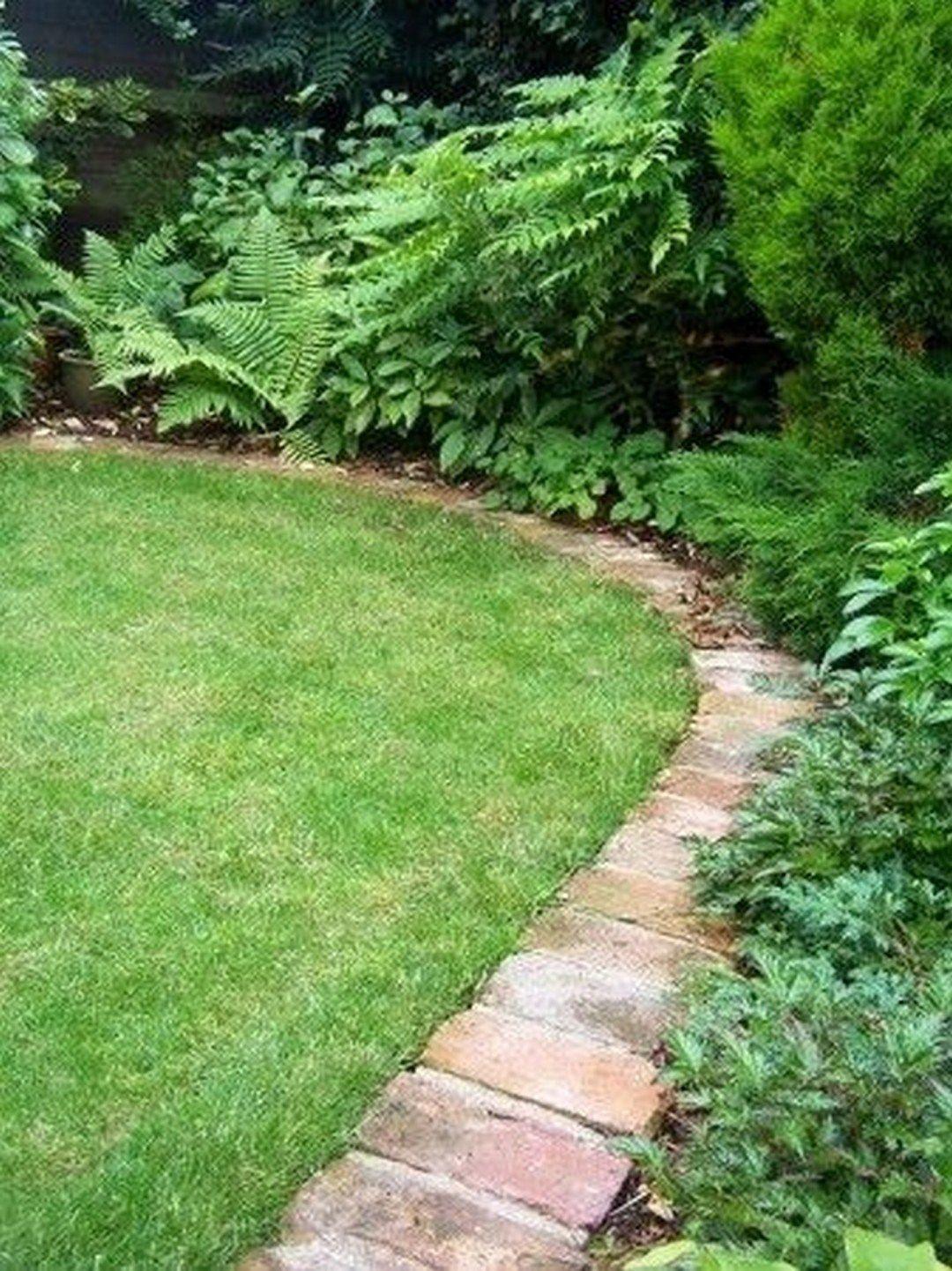 22 Garden Border Ideas To Dress Up Your Landscape Edging Alladecor Com Brick Landscape Edging Brick Garden Brick Garden Edging