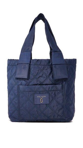 84193ea34e44 MARC JACOBS Nylon Knot Small Tote.  marcjacobs  bags  hand bags  nylon  tote