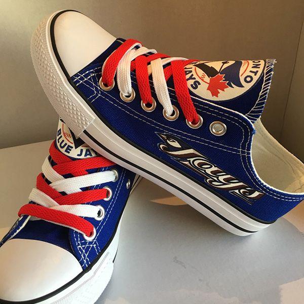 quality design aef3f 648ab Toronto Blue Jays Designed Sneakers - http   cutesportsfan.com toronto-