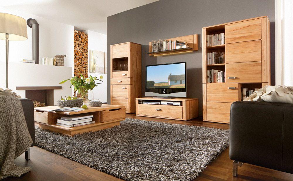Billig Wohnzimmermobel Massivholz Deutsche Deko Pinterest